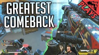 THE GREATEST COMEBACK!! HOW DID WE WIN?! - Apex Legends