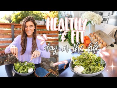 Healthy & Fit Day in the Life! Workout + Eats