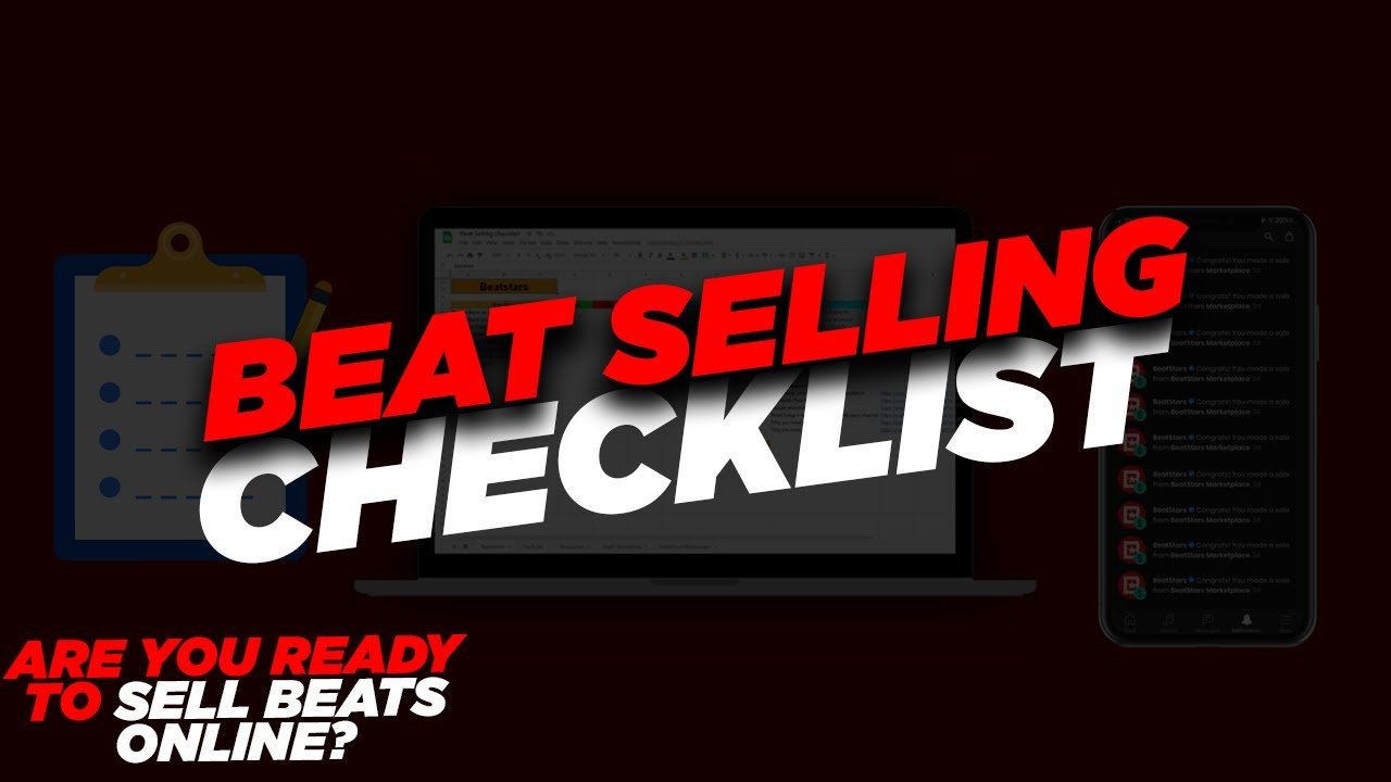 (Selling Beats Online 2021)- Producer Checklist to be Successful on YouTube, Instagram, ETC.