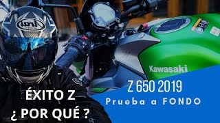 Kawasaki Z650 2019 La moto para casi todo.
