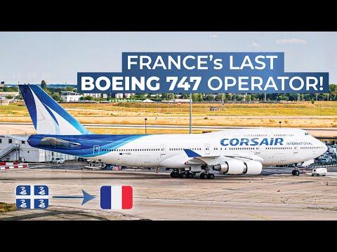 TRIPREPORT | Corsair (ECONOMY) | Boeing 747-400 | Fort-de-France - Paris Orly