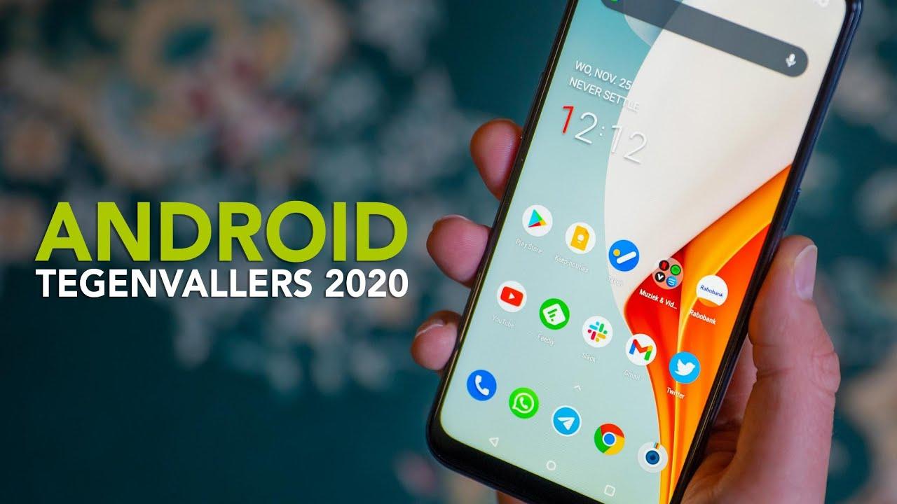 6 Android-tegenvallers van 2020 op een rij