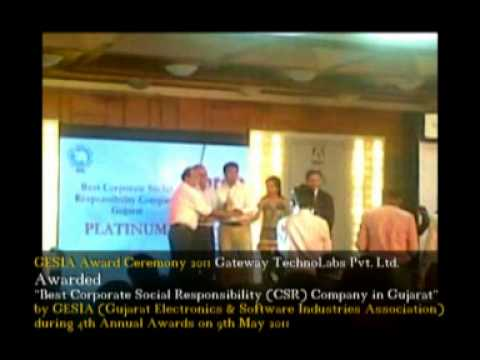 Best Corporate Social Responsibility Company in Gujarat by GESIA