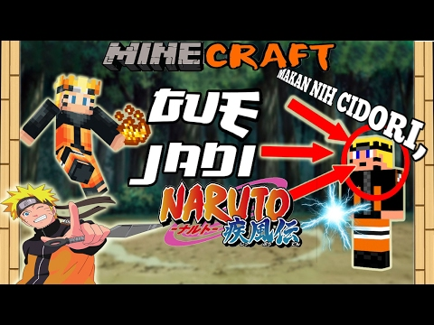 MENCOBA JADI NARUTO?! - Minecraft Indonesia MOD Showcase #7
