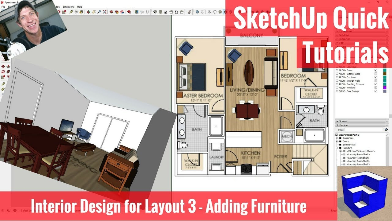 Sketchup House Design Template