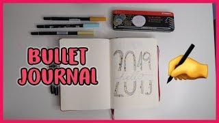 Bullet Journal 2019 - Így kezdj hozzá! | Viszkok Fruzsi