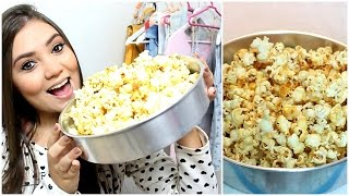 Como fazer pipoca doce ♥