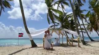 Валерий и Ольга / Свадьба в Доминикане / Остров Саона(, 2017-10-11T00:14:28.000Z)