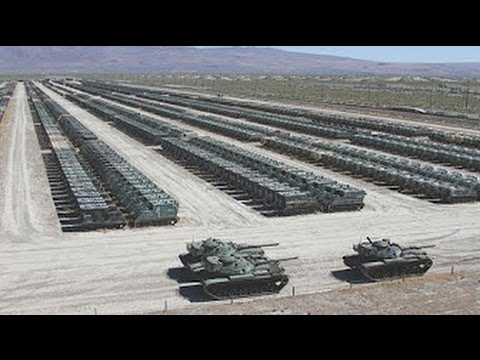 WORLDS LARGEST NIGHTMARE for Putin US Military Tanks & Trucks in Poland in large numbers