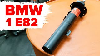 Ako vymeniť vzperu predného tlmiča na BMW Rad 1 E82 [NÁVOD AUTODOC]