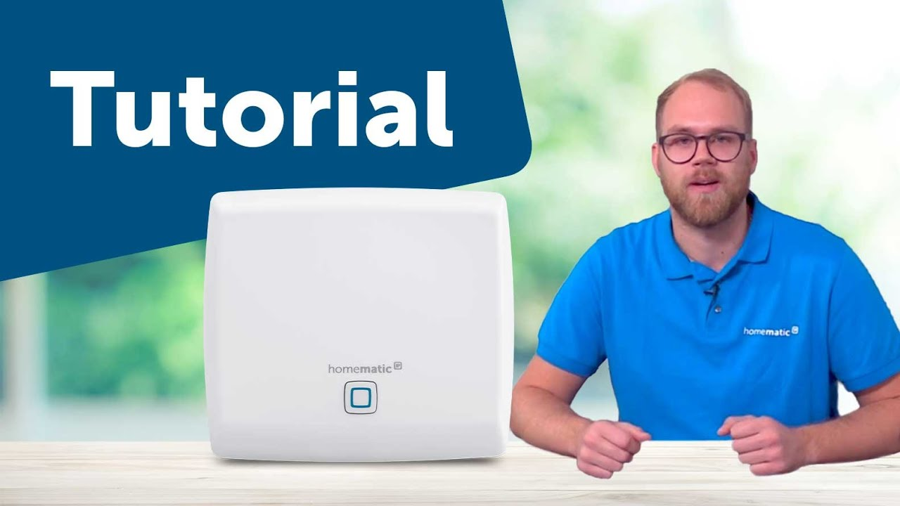 Tutorial: Access Point einrichten  Homematic IP