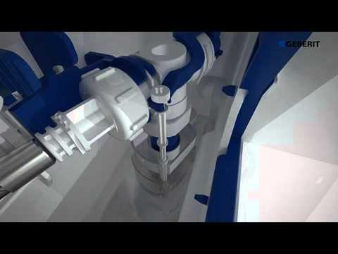 Pulsadores de cisterna geberit sigma80 youtube for Cisterna geberit