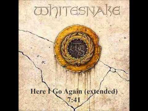 Here i go again extended  Whitesnake