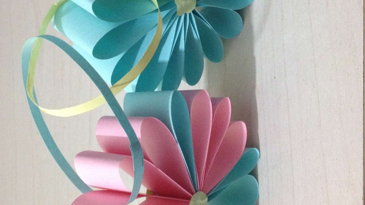 How To Make A 3d Paper Flower Diy Crafts Tutorial Guidecentral
