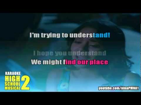 KARAOKE I Gotta Go My Own Way - High School Musical 2
