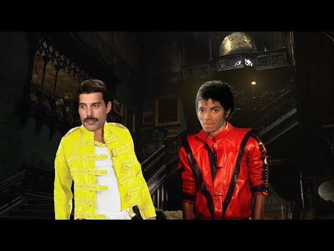 Freddie Mercury And Michael Jackson Enter A Haunted Mansion (LATE HALLOWEEN SPECIAL)