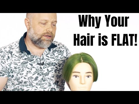 why-your-hair-may-be-too-flat---thesalonguy