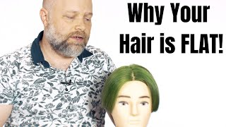 Why Your Hair may be TOO FLAT - TheSalonGuy screenshot 4