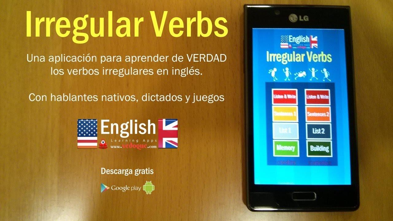 نتيجة بحث الصور عن English Irregular Verbs android