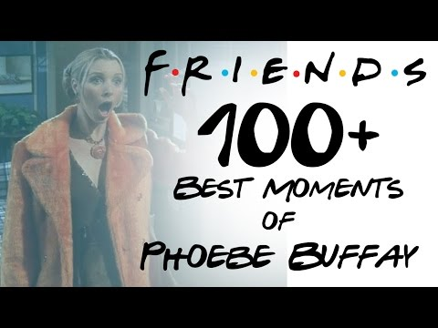 FRIENDS - 100+ Moments - Best of Phoebe Buffay HD All Seasons