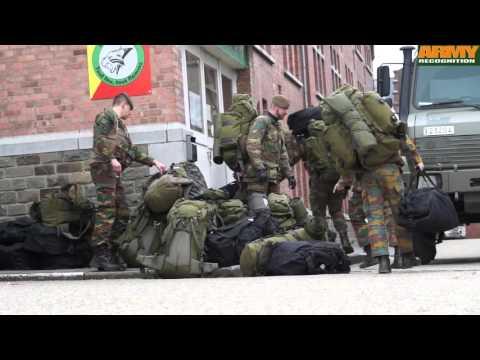 Belgian soldiers 12 Li deployed to secure airport after terrorist attacks Belgium