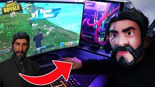 I Turned Into A Real Life John Wick Skin In Fortnite (Funny!)