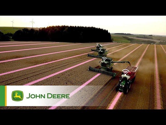 Récepteur StarFire 6000 John Deere - Répétabilité tout au long de la saison