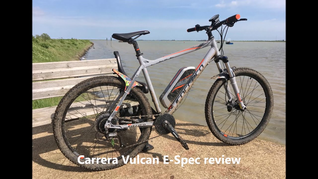 Carrera Vulcan E-Spec Review - (Emtb Review, Ebike Review, Suntour Hesc)   Ice Reef 09:37 HD