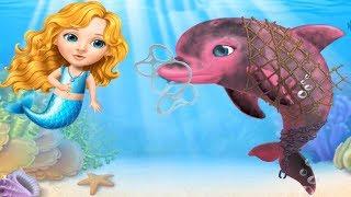 Sevimli Kızlar Deniz Kızı Eğlencesi #Çizgifilm Tadında Yeni Oyun
