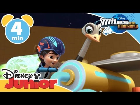 Miles From Tomorrow | Miles Underwater | Disney Junior UK