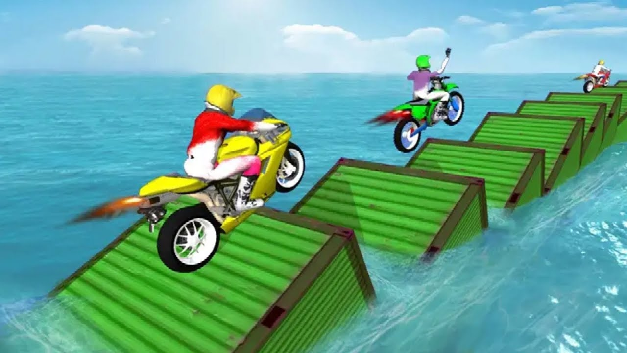 Moto Bike Racing Super Rider #Dirt Motor Cycle Game #Bike Racing Games To Play #Games For Kids