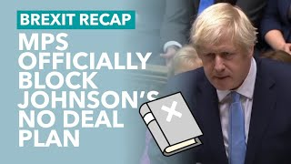 MP's Bill To Block No Deal Gets Royal Assent - Brexit Recap