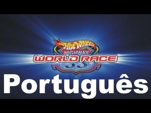 Hot Wheels Via 35 Corrida Mundial. português.br