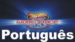 Hot Wheels Via 35 Corrida Mundial - português-br