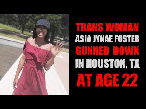 Asia Jynaé Foster Gunned Down In Houston