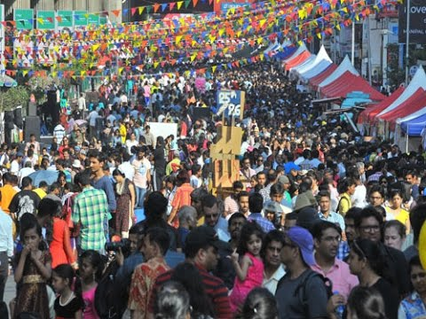 Open Street: Carnival at MG Road