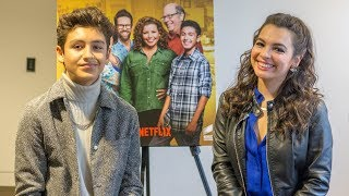 Marcel Ruiz and Isabella Gomez Spill ONE DAY AT A TIME Season 3 Tea!