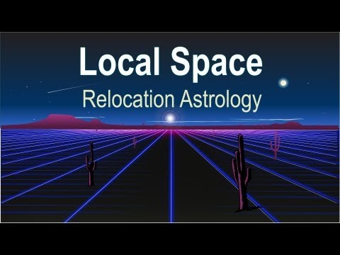 Local Space Relocation Astrology, Interpreted by Astrologer Michael Erlewine