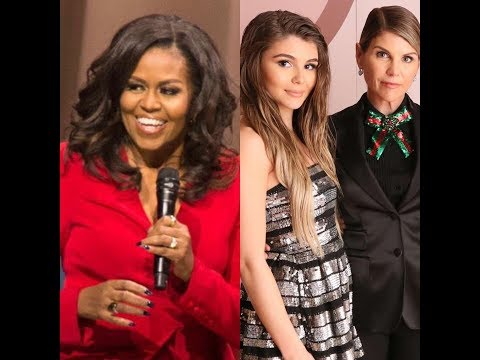 MICHELLE OBAMA FORESHADOWS LORI LOUGHLIN OLIVIA JADE COLLEGE SCANDAL thumbnail