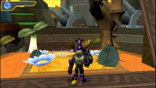 Ratchet & Clank Size Matters (PSP) gameplay