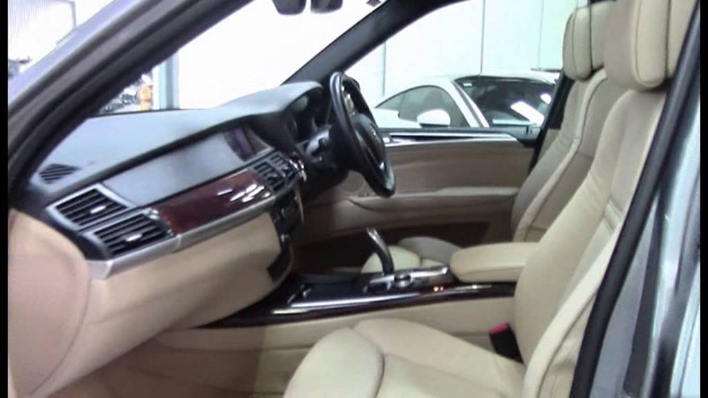 bmw x5 48i grey 7 seat my08 1008343 youtube. Black Bedroom Furniture Sets. Home Design Ideas
