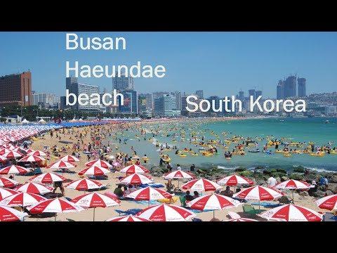 Busan haeundae beach | South korea | #TravelVlog | AJ Vlogs