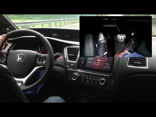 How To Drive A Stick Shift Manual In A 2014 Si Starting Rev Match Hill Start Etc