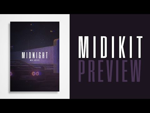 BEST TRAP MIDI MELODY LOOPS 2018 - (MIDNIGHT) - By