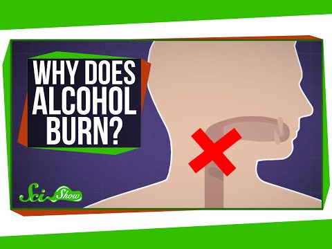 Why Does Alcohol Burn When You Drink It?