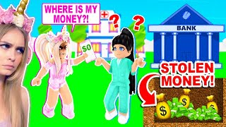 *NEW* BANK IN ADOPT ME STEALS ALL OF YOUR MOENY! (ROBLOX)