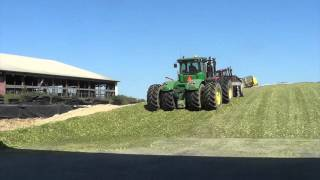 Chopping Corn Silage at Legacy Dairy Farms -  Plymouth Indiana