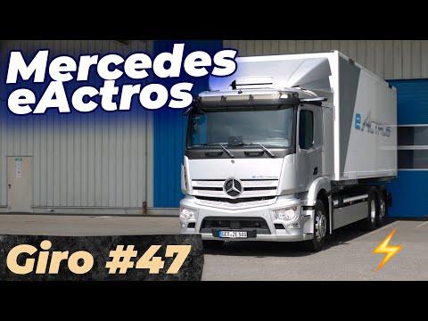 Mercedes eActros: 400 KM SEM UM PINGO DE COMBUSTÍVEL! #Giro47
