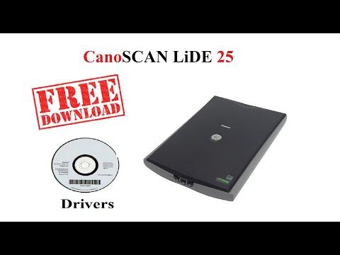 Canoscan LiDE 25 | Free Drivers