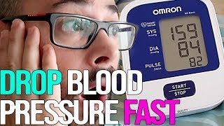 Lower Your Blood Pressure Instantly in Minutes by more than 20 points - Healthy Me